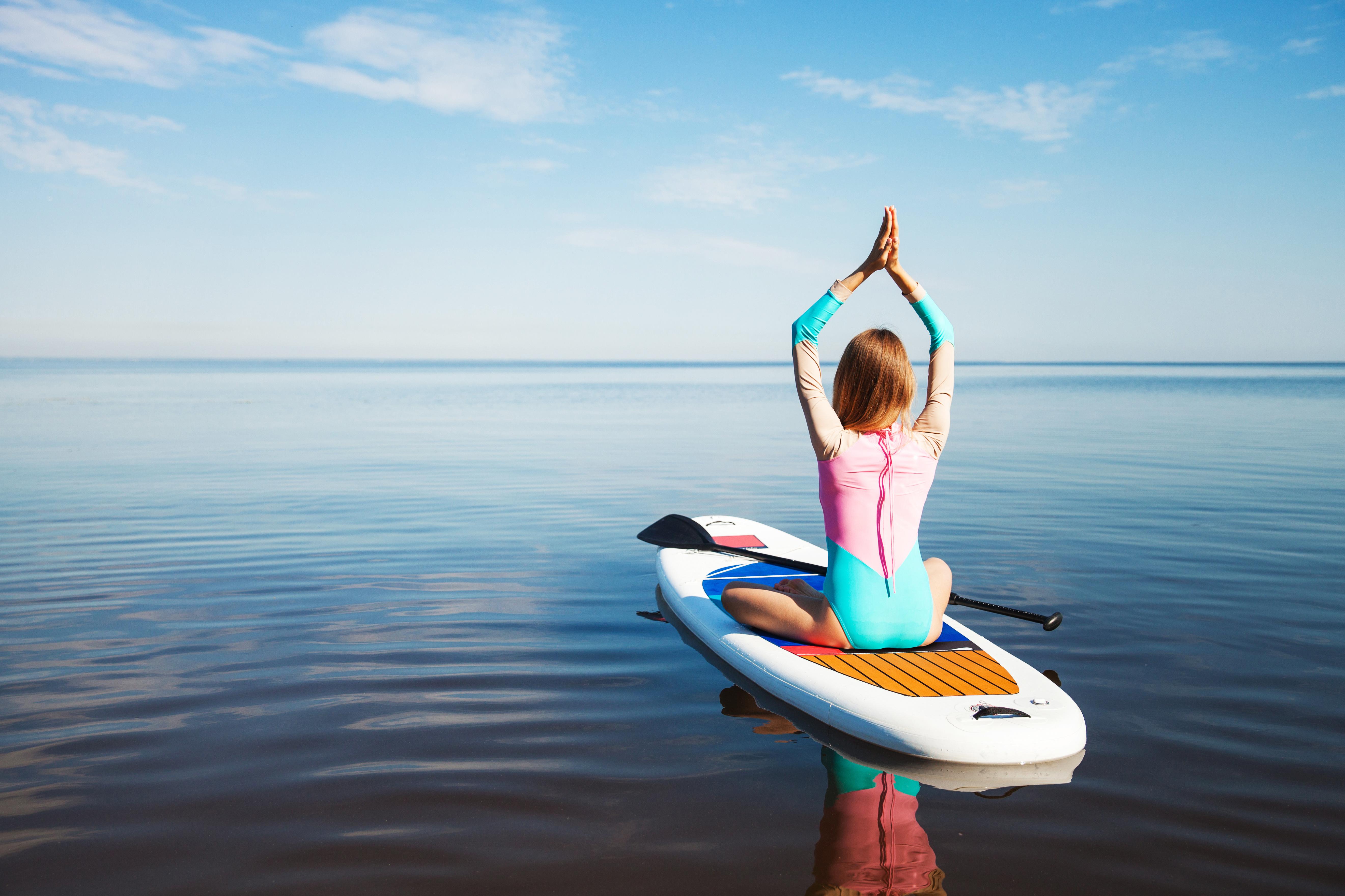 Fitness et yoga paddle : prêt(e)s à plancher !